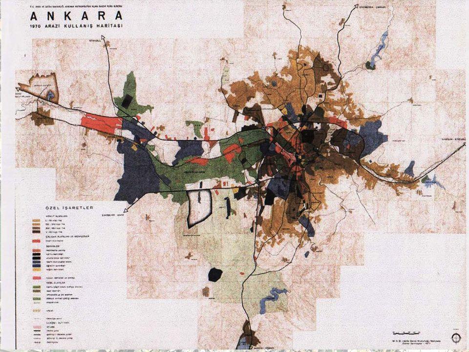 Kentsel Yerleşme Alanı : 5.720 ha. Kentsel Yerleşme Alanı : 5.720 ha. Kent Nüfusu: 455.000 kişi Kent Nüfusu: 455.000 kişi Plan Hedef Yılı: 1987 Plan H