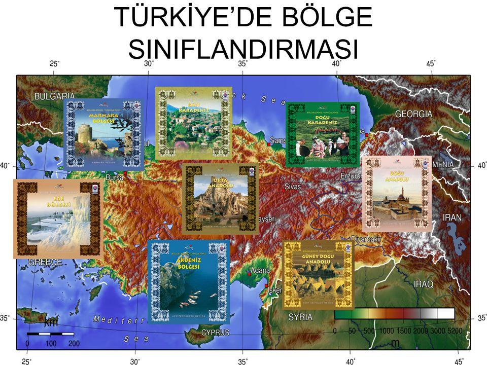 TÜRKİYE'DE BÖLGE SINIFLANDIRMASI