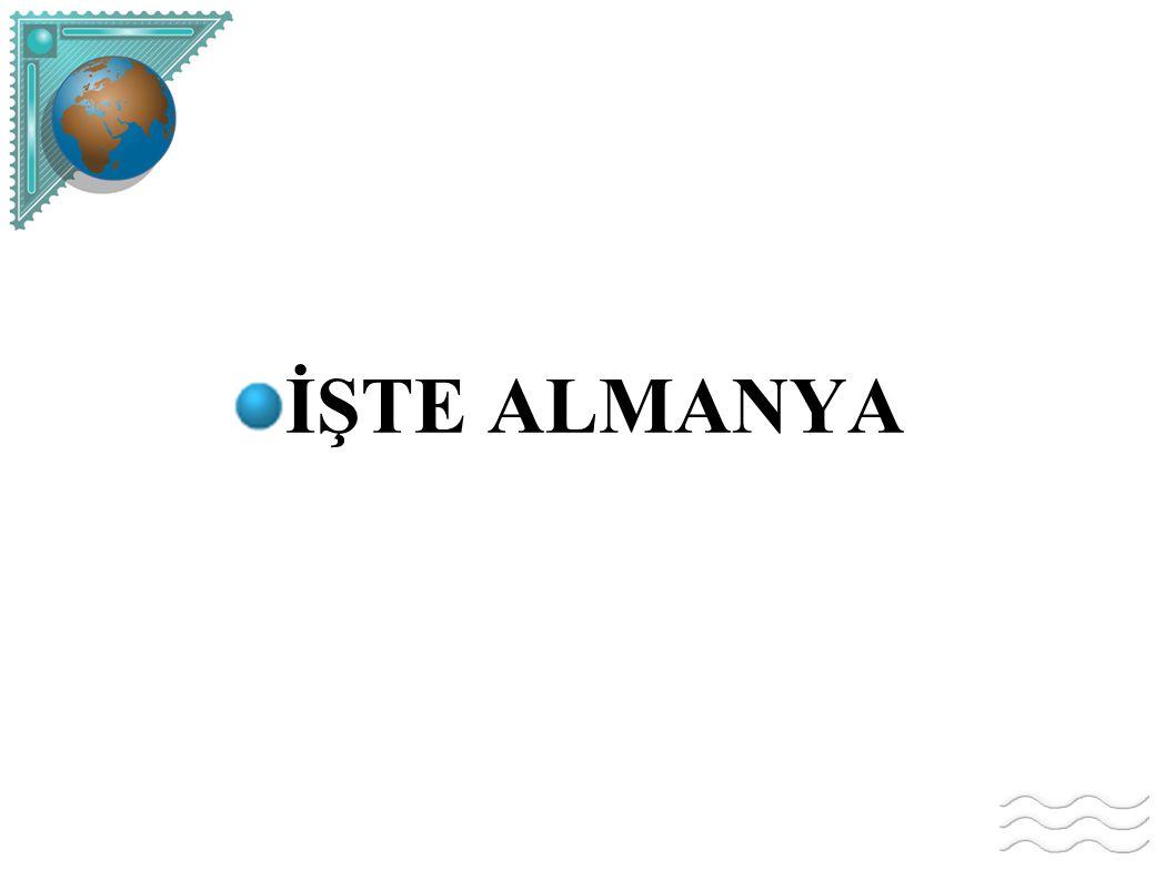 İŞTE ALMANYA