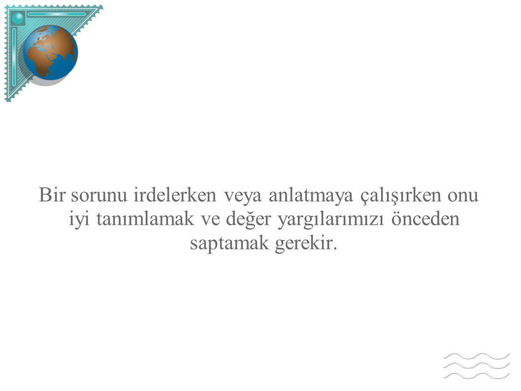 Amerika nın Türkler e karşı olan düşüncesini ise Truman seçilmeden önce yaptığı bir konuşmasında açıkça dile getirmiştir: Yer yüzünden silmek istediğim iki millet vardır.