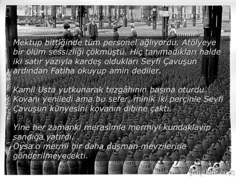 Bu kahraman Türk evladı kederini yüreğine gömüp anacığını, babacığını defnedemeden düşmanın peşine düştü. Üç gün sonra kendisi de hakkın rahmetine kav