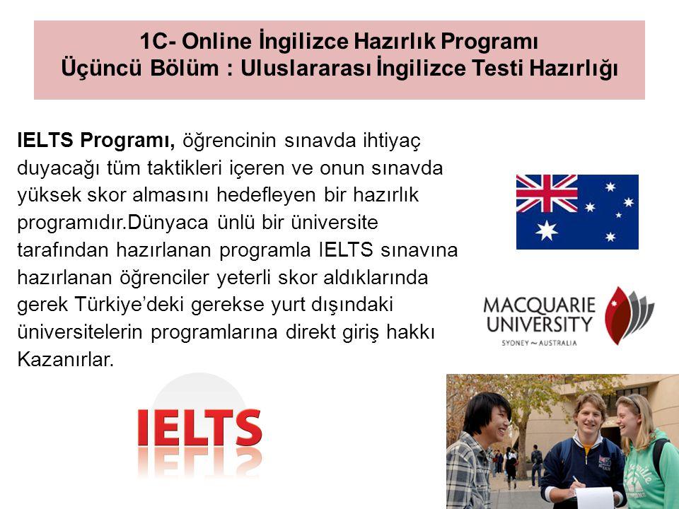 2- Online Bilim Hazırlık Programı Bu program 2011/2012 eğitim yılında başlayacaktır ve İngilizce Hazırlık Programını tamamlayan öğrencilere yönelik olacaktır.