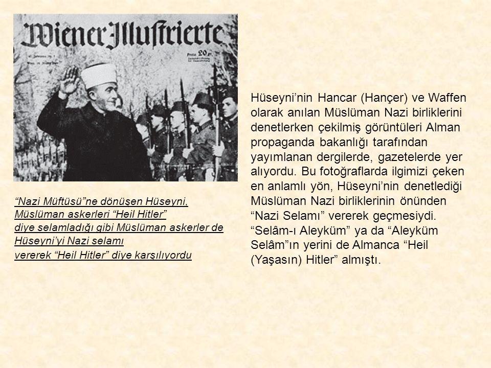 """Hüseyni Berlin'de İslam Merkez Enstitüsü'nün açılış konuşmasını yapıyor. 18 Aralık 1942 Naziler 18 Aralık 1942'de Berlin'de bir """"İslami Merkez Enstitü"""