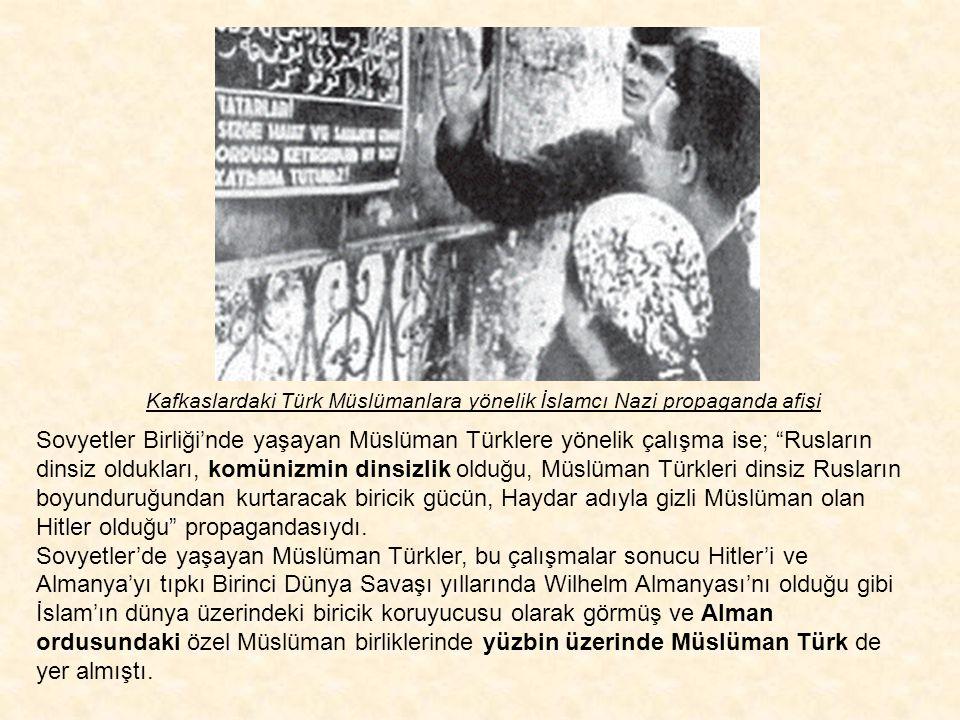Hacı Emin El-Hüseyni'nin propaganda çalışmaları sonucu ilk adımda Bosna, Kosova, Makedonya, Bulgaristan, Romanya, Batı Trakya, vb. gibi Avrupa toprakl