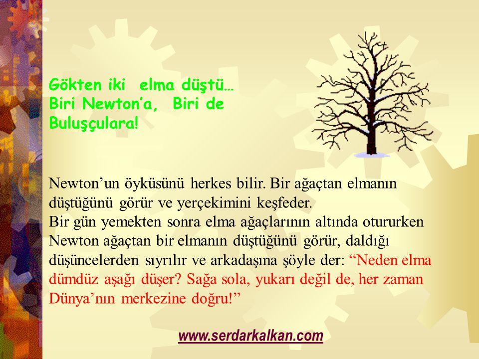 Elbette Newton ve diğer insanlar yaşamlarında ağaçtan elma düştüğünü birçok kez görmüştür.