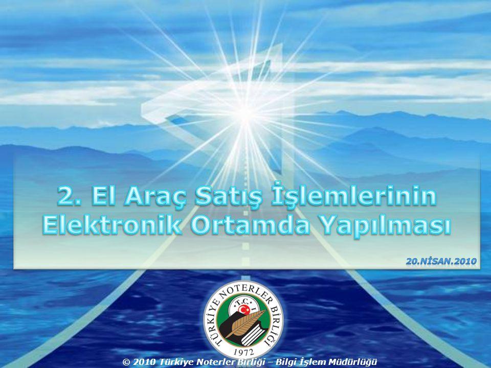 Company LOGO © 2010 Türkiye Noterler Birliği – Bilgi İşlem Müdürlüğü
