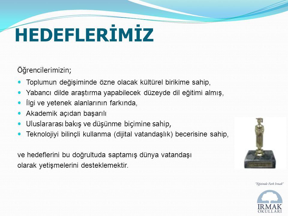 IRMAK LİSESİ'NDE II.