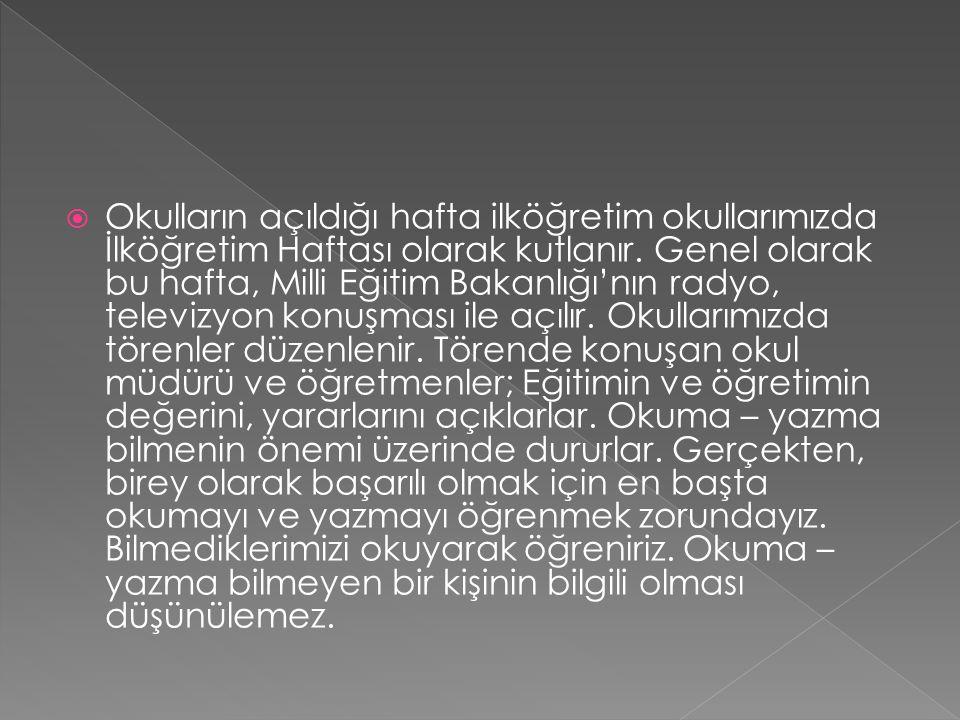  Atatürk'ün özlediği çağdaş uygarlık düzeyinin üstüne çıkabilmek, ancak bilgi ile olur.