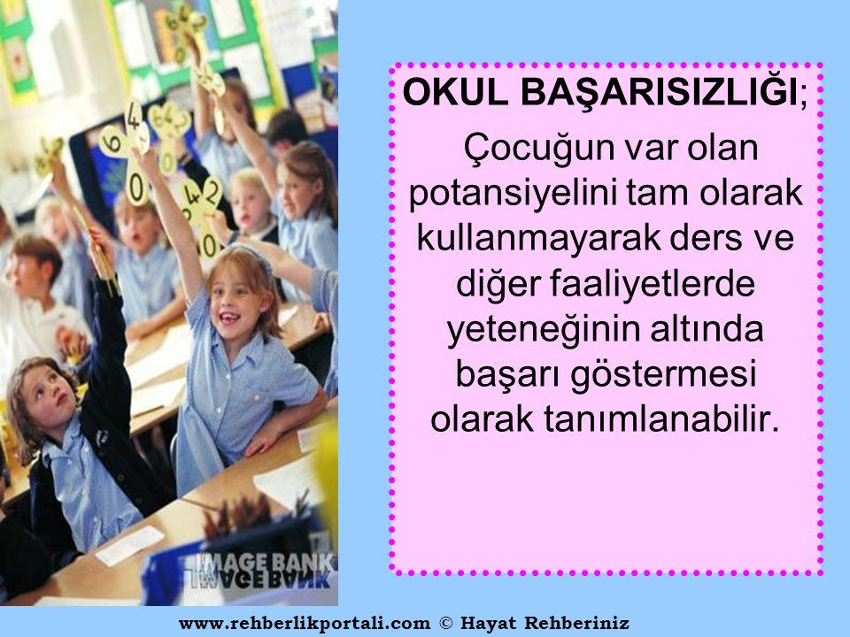 www.rehberlikportali.com © Hayat Rehberiniz