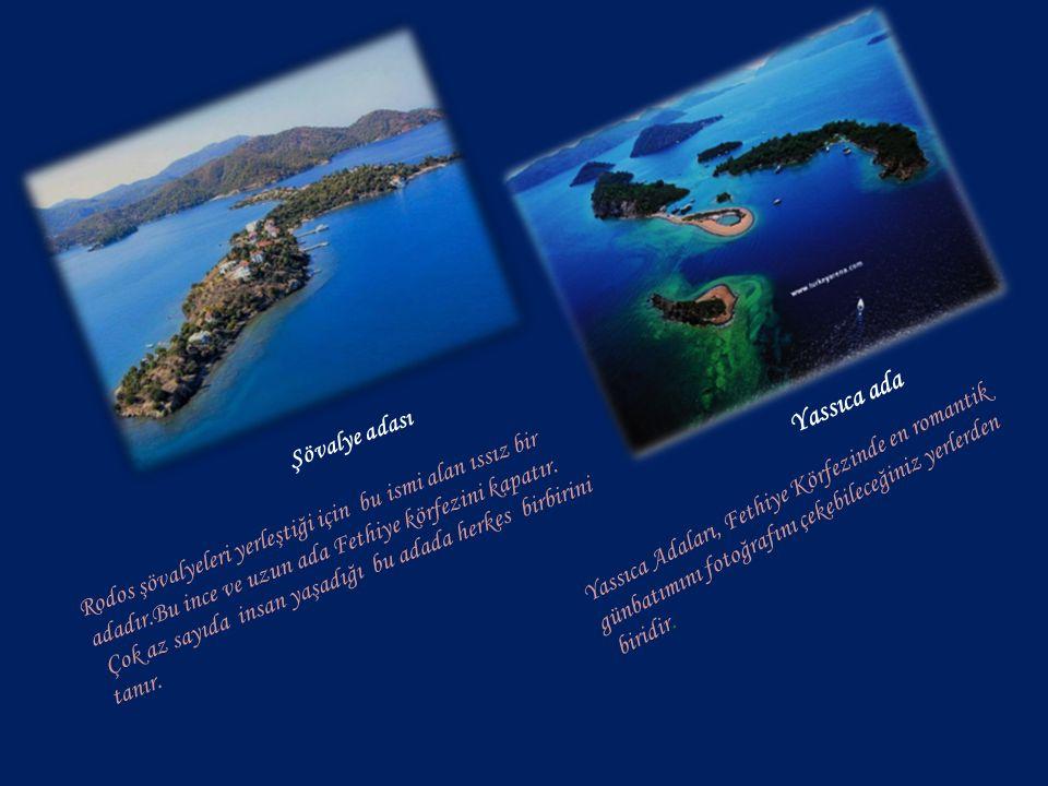 Şövalye adası Yassıca Adaları, Fethiye Körfezinde en romantik günbatımını fotoğrafını çekebileceğiniz yerlerden biridir.