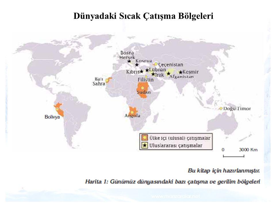 1 Dünyadaki Sıcak Çatışma Bölgeleri