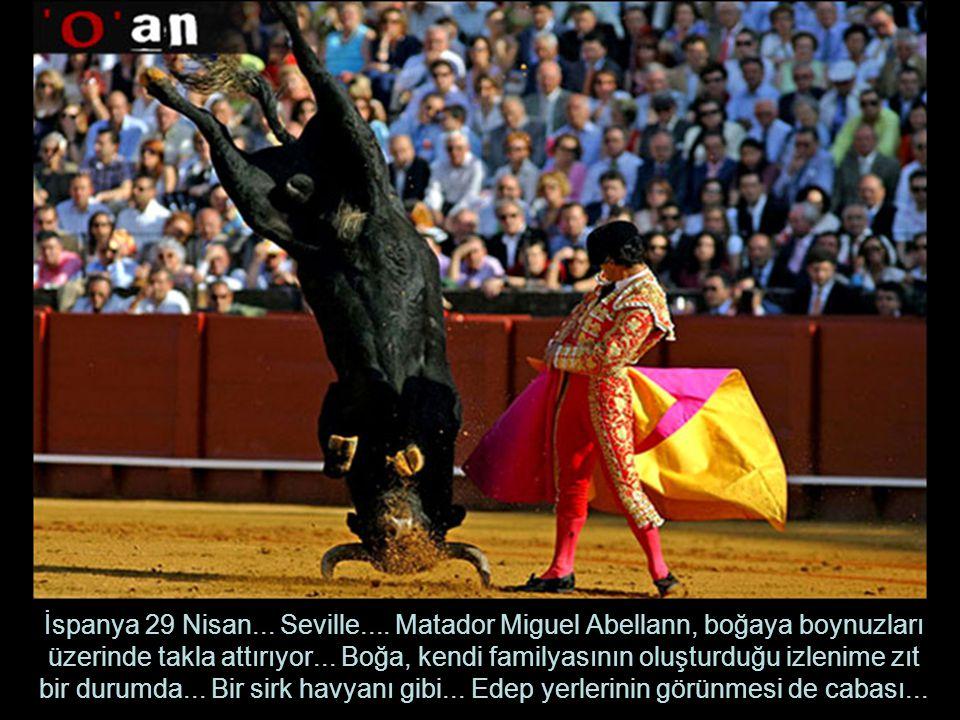 İspanya 29 Nisan...Seville....