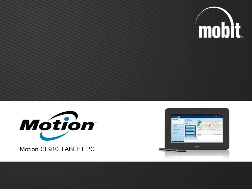 Motion CL910 TABLET PC