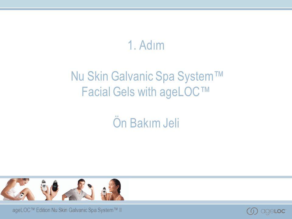 ageLOC™ Edition Nu Skin Galvanic Spa System™ II 1.