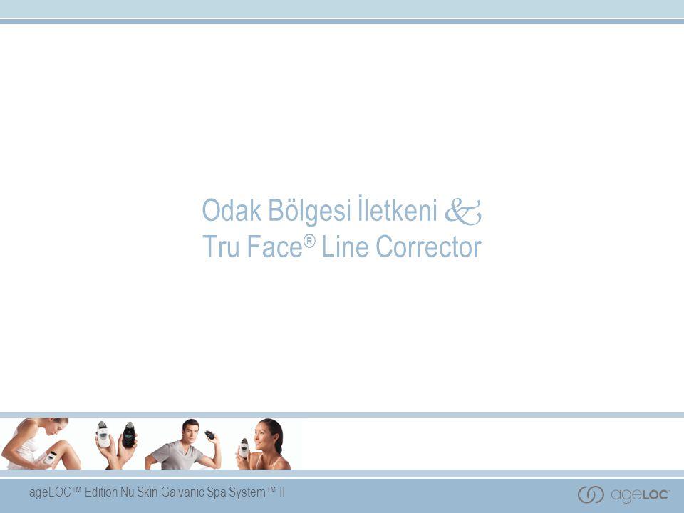 ageLOC™ Edition Nu Skin Galvanic Spa System™ II Odak Bölgesi İletkeni  Tru Face ® Line Corrector