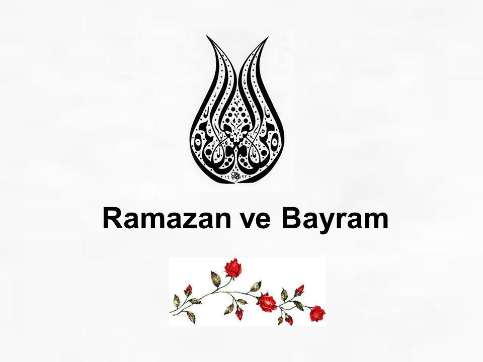 Ramazan ve Bayram