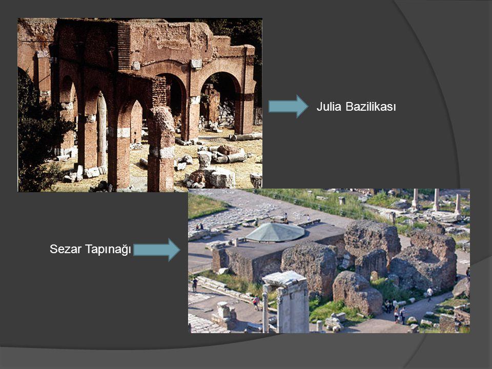 Julia Bazilikası Sezar Tapınağı