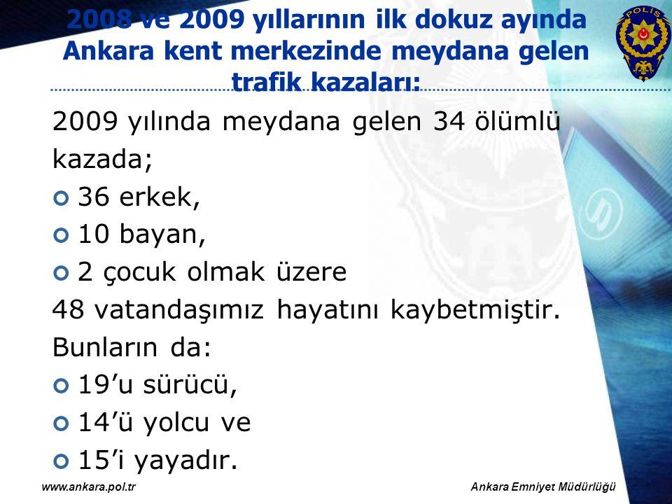 1 Nisan 2008 tarihli uygulama Ankara kent merkezinde polis ekiplerince müdahale edilen maddi hasarlı trafik kazası sayısında yaklaşık %50 oranında azalma olması, 1 Nisan 2008 tarihinden itibaren maddi hasarla sonuçlanan trafik kazalarında tarafların anlaşarak polis beklemeden kaza tespit tutanağı düzenleyerek kaza yerinden ayrılmalarını öngören uygulamanın etkililiğini ortaya koymaktadır.