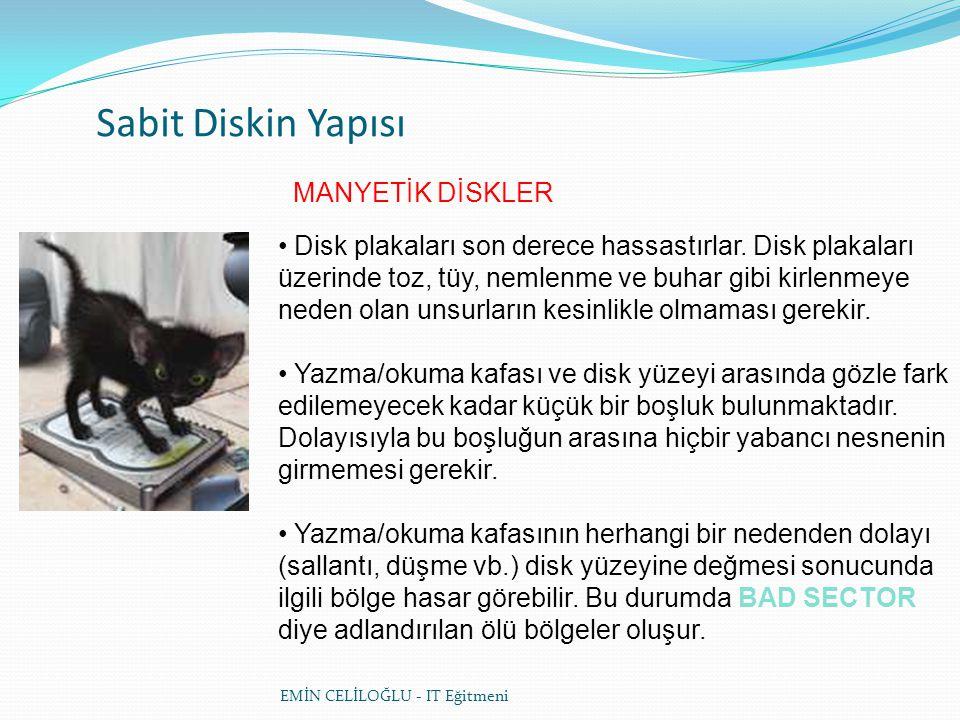 CD (COMPACT DISK) YAPISI • CD'lerin sektör yapısı da manyetik disklere göre farklıdır.