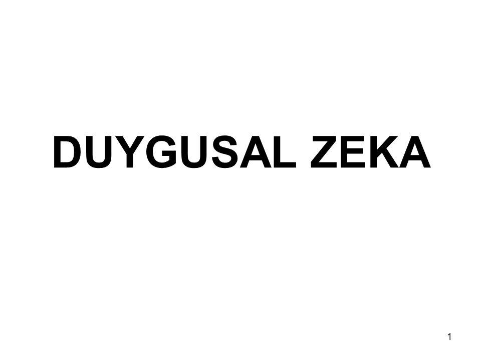DUYGUSAL ZEKA 1