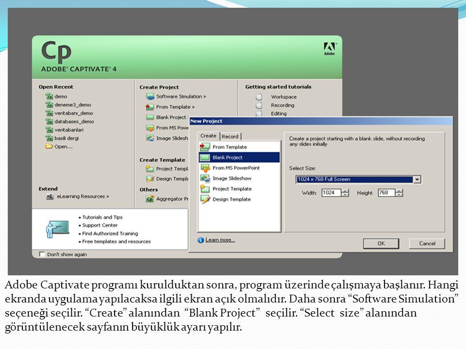 Calibrate input a tıkladıktan sonra kısa bir deneme konuşması yapılır.