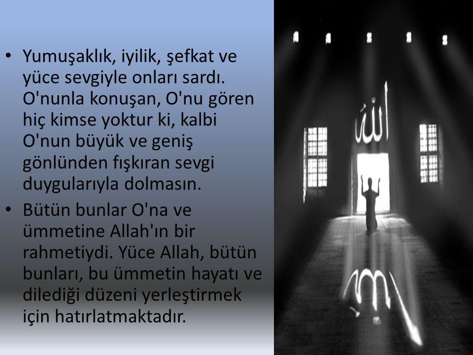 İSTİŞARE ETME • ...Onları bağışla, kendileri için Allah tan af dile.