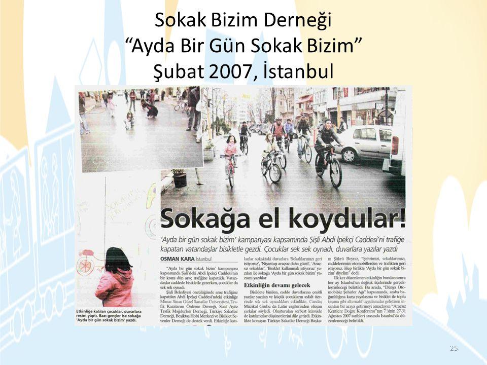 """Sokak Bizim Derneği """"Ayda Bir Gün Sokak Bizim"""" Şubat 2007, İstanbul 25"""