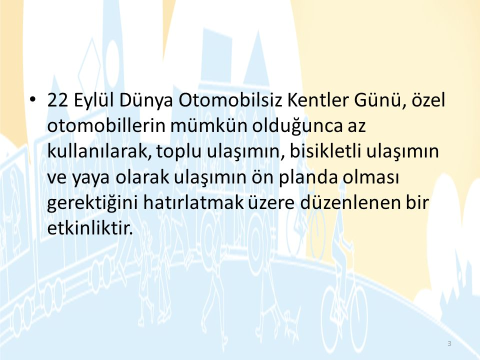 2002, Ankara Şehir Plancıları Odası, Mimarlar Odası ve Çevre Mühendisleri Odası Ankara Şubeleri, 2002 ÇAĞDAŞ KENTLEŞME YOLUNDA BİR ADIM DAHA ATALIM YAYA OLARAK .