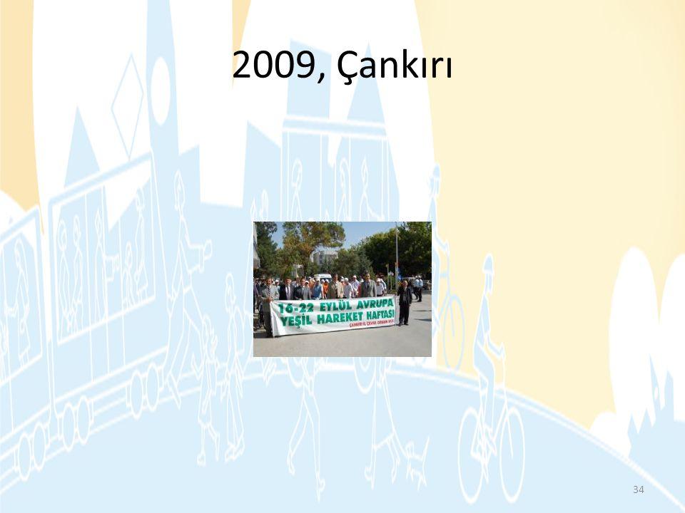 2009, Çankırı 34
