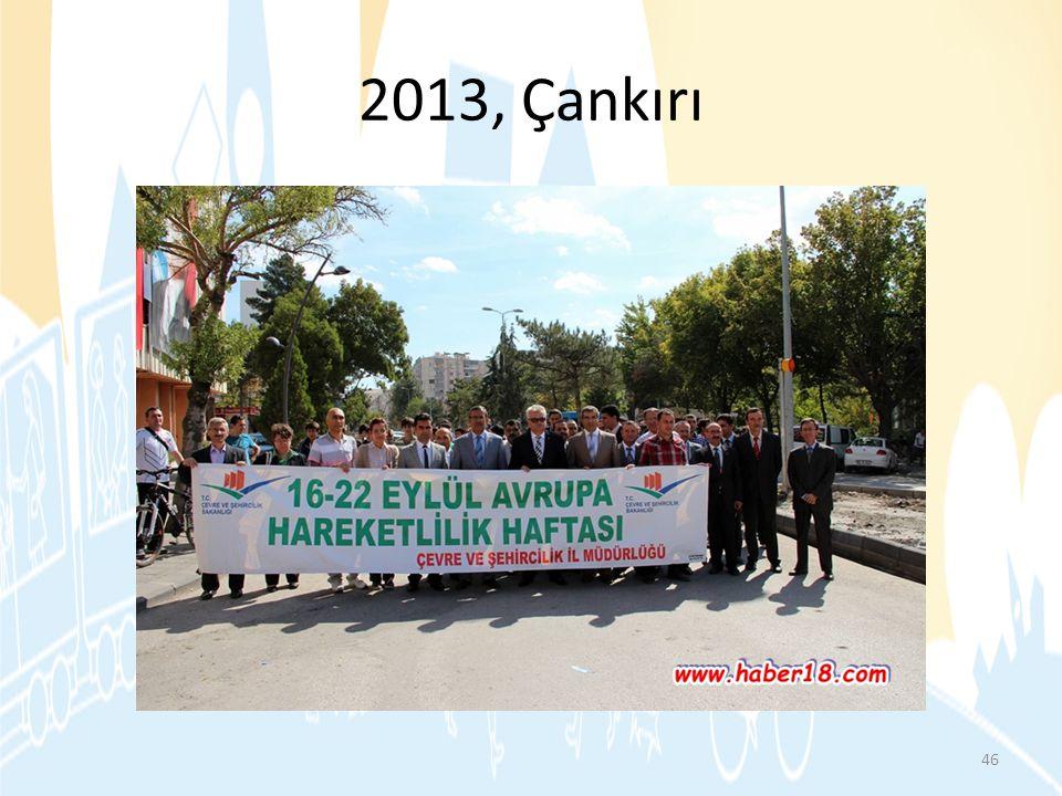 2013, Çankırı 46