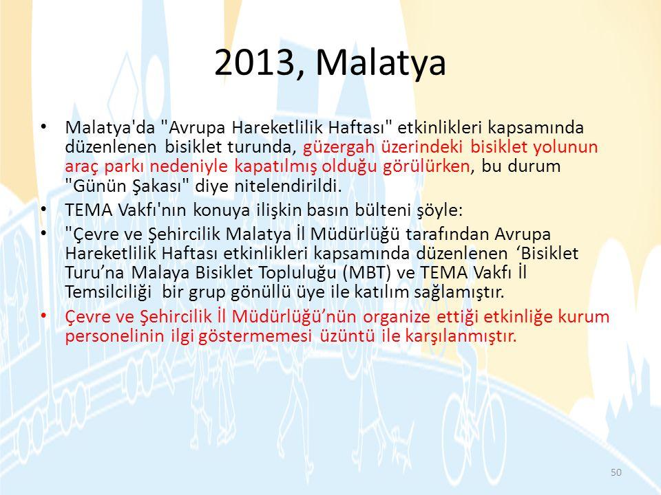 2013, Malatya • Malatya'da