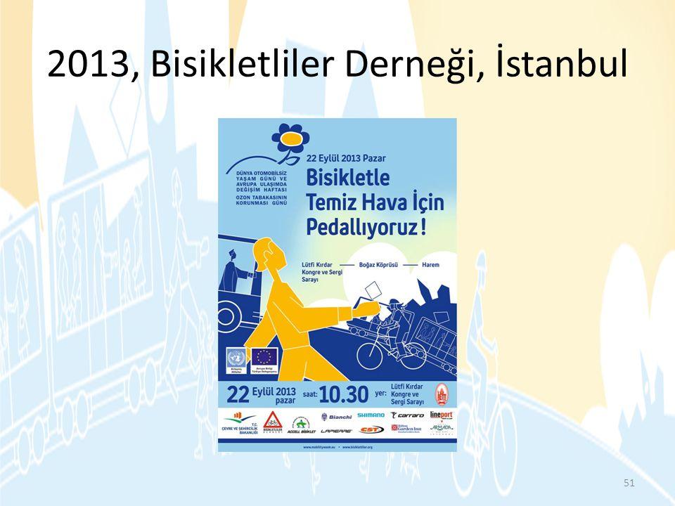 2013, Bisikletliler Derneği, İstanbul 51