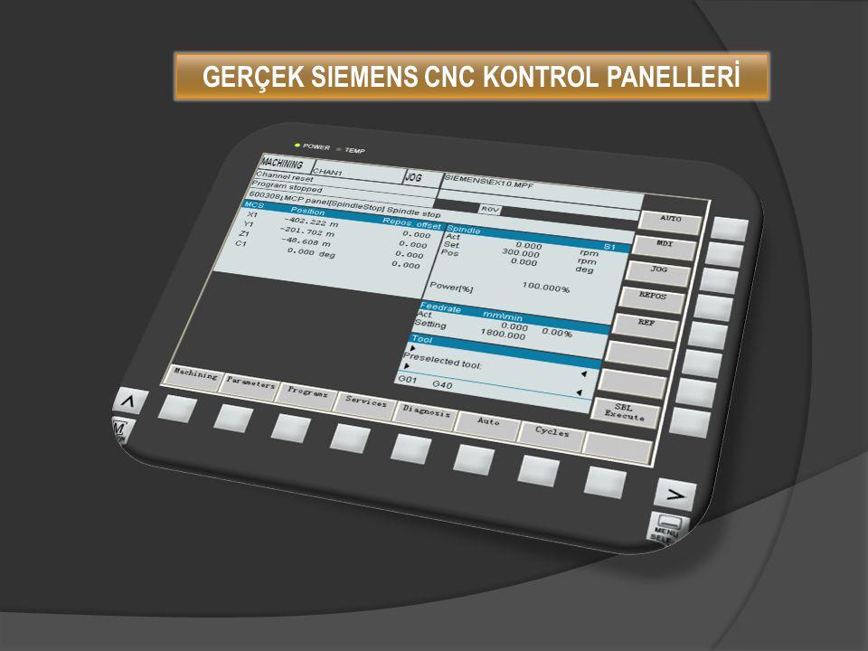 GERÇEK MITSHBISHI EZMOTİON CNC KONTROL PANELLERİ