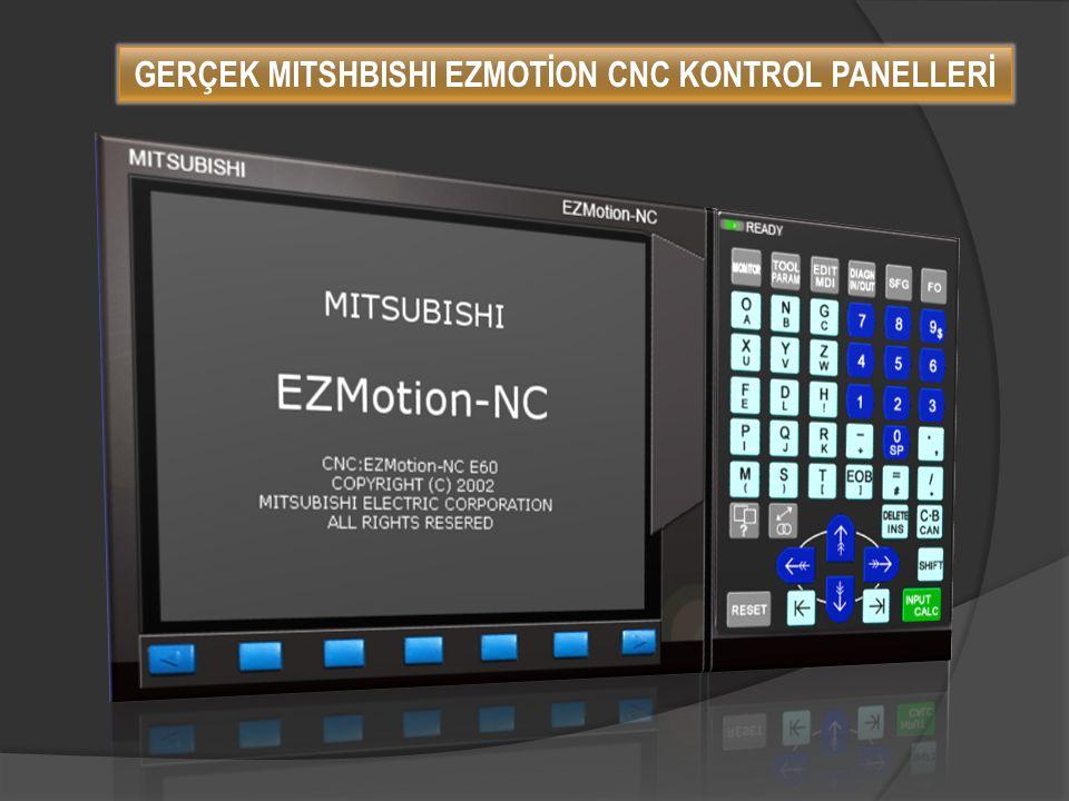  Özel operatör panelleri isteğe göre tasarlanabilir ve eklenebilir.