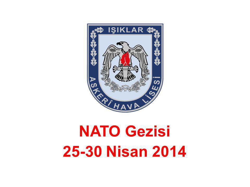 NATO Gezisi 25-30 Nisan 2014