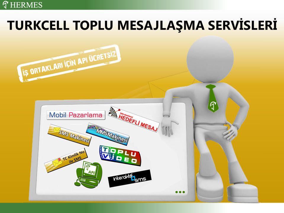 TURKCELL TOPLU MESAJLAŞMA SERVİSLERİ