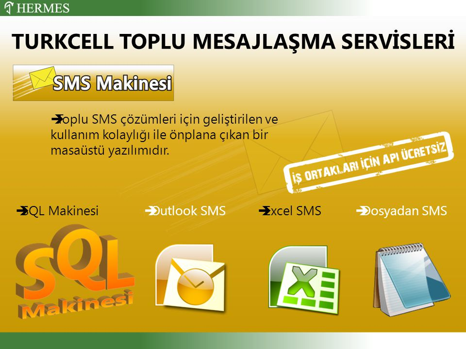  Toplu SMS çözümleri için geliştirilen ve kullanım kolaylığı ile önplana çıkan bir masaüstü yazılımıdır.