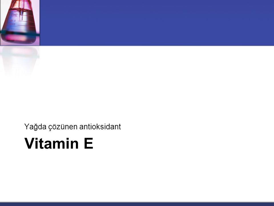 Vitamin D • Günlük gereksinimin çok üzerinde vitamin D alınması, tipik bozukluklar meydana getirir. • Hipervitaminoz D durumunda özellikle • kalpte, •