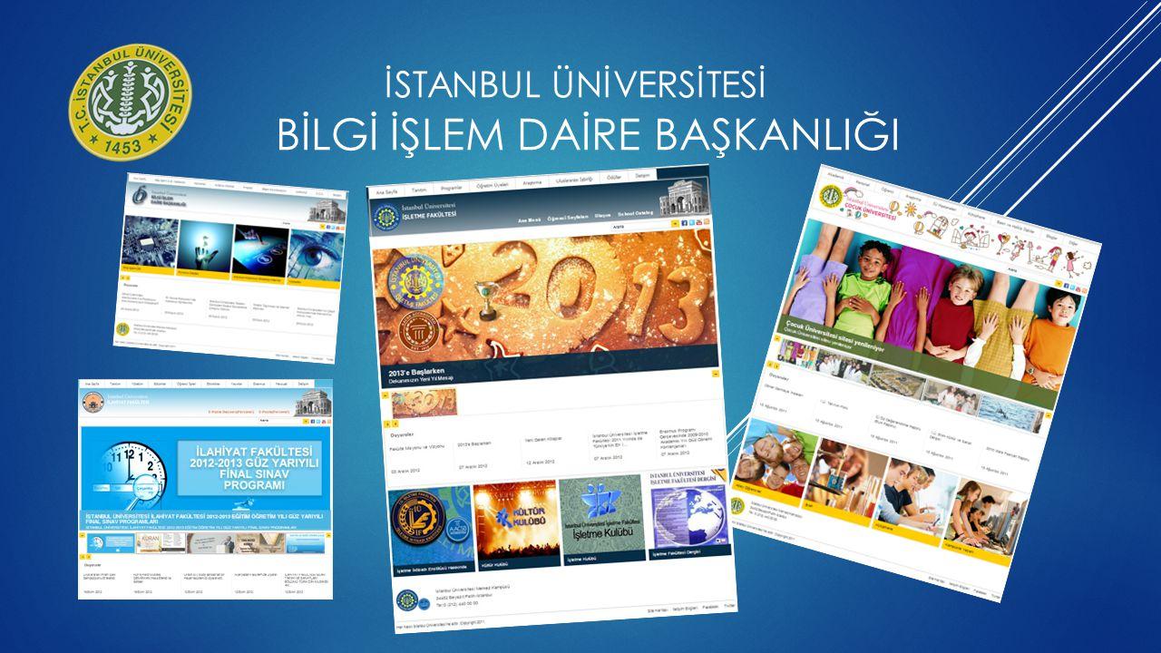 2012 Şubat ayında kurulan Bilişim Koordinasyon Kurulu bünyesinde Web Komisyonu üniversitemizin web sayfalarının politika ve vizyonunu belirlemektedir.