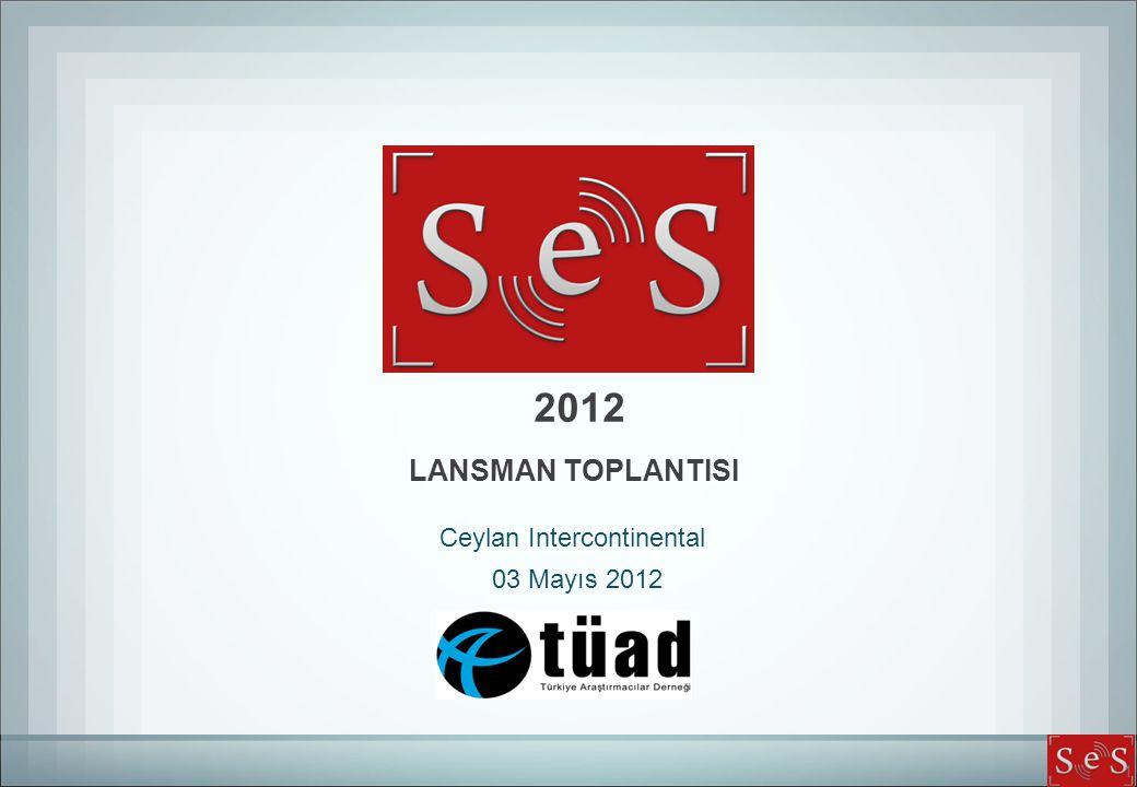 1 2012 Ceylan Intercontinental 03 Mayıs 2012 LANSMAN TOPLANTISI