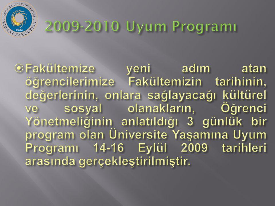 2009-2010 Uyum Programı