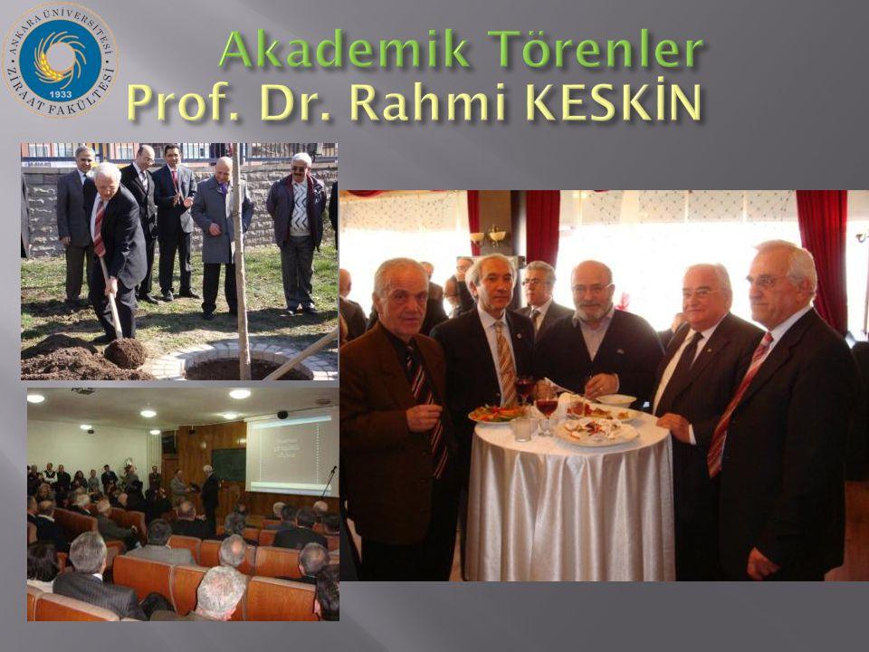 Prof. Dr. Rahmi KESK İ N