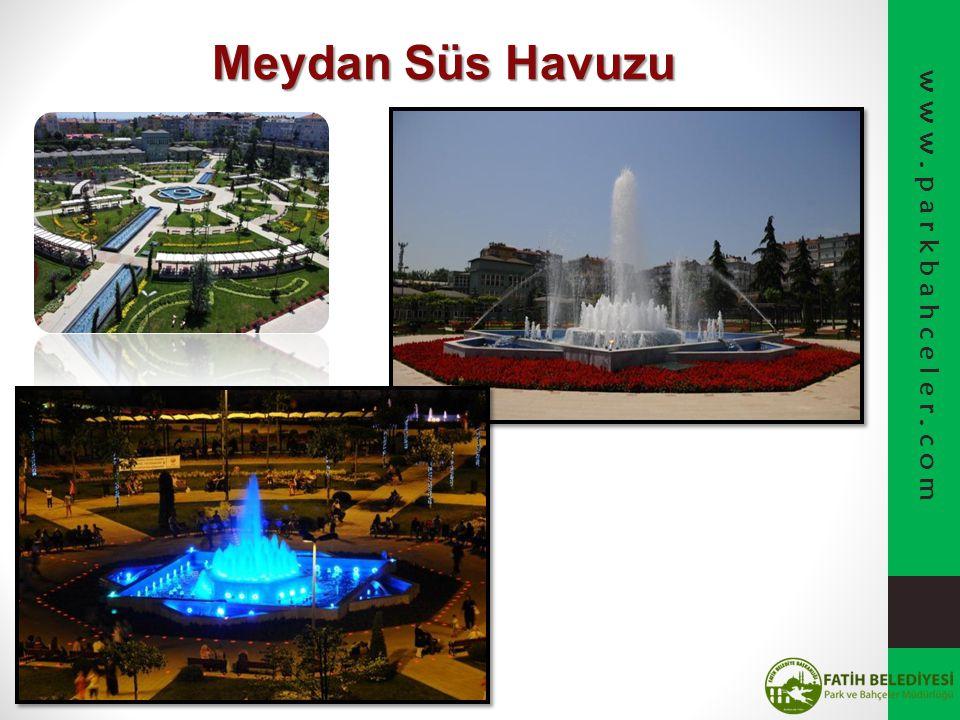 Meydan Süs Havuzu www.parkbahceler.com