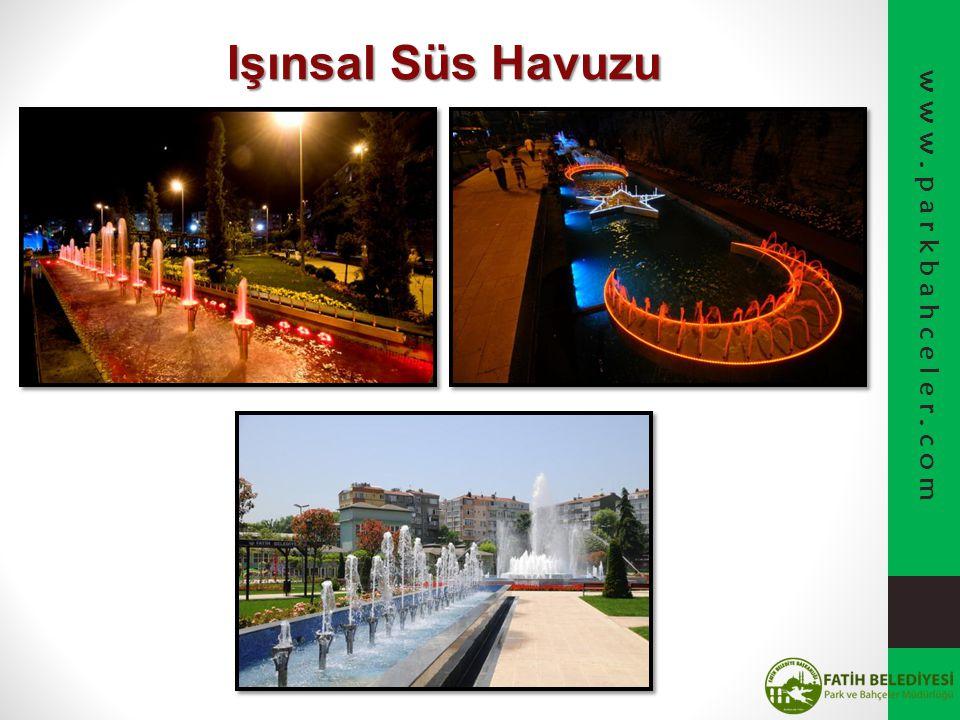 Işınsal Süs Havuzu www.parkbahceler.com