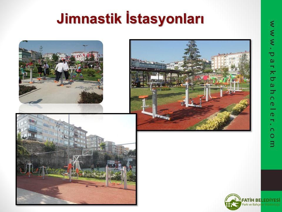 Jimnastik İstasyonları www.parkbahceler.com