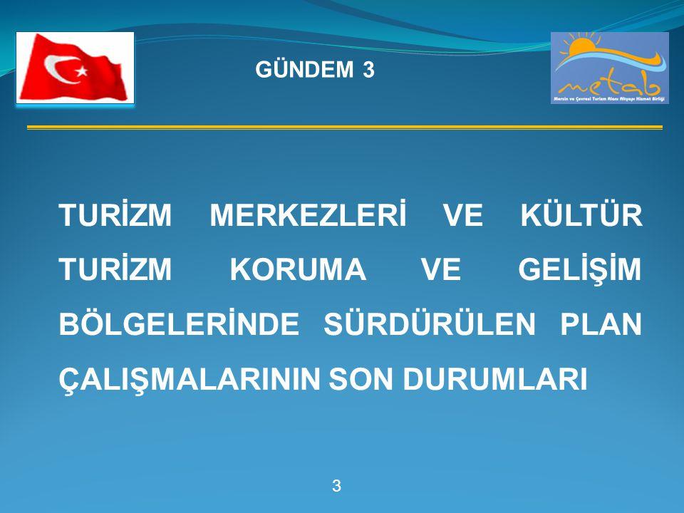 4 GÜLNAR - ORTABURUN Gülnar – Ortaburun Turizm Merkezinin Jeolojik-Jeoteknik Etütlerin Yapılması YAPILAN İŞLER: -Hali hazır haritası tamamlanmış ve onaylanmıştır.