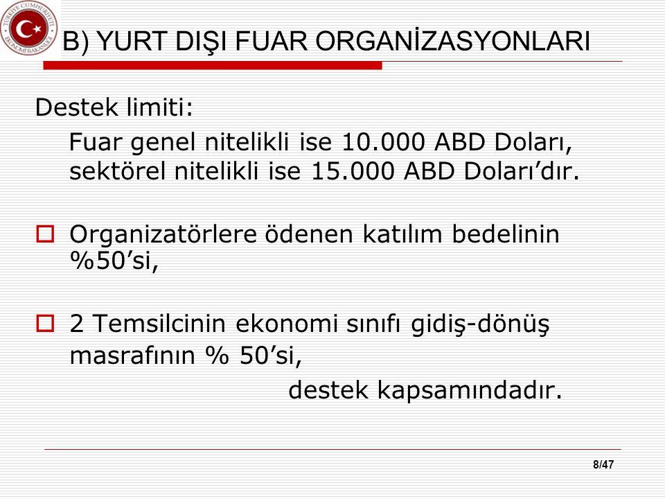 DESTEK BAŞVURU SAYISI *20 Aralık 2013 tarihi itibariyle tahakkuk edenler dahil olmak üzere destek başvuru sayısı