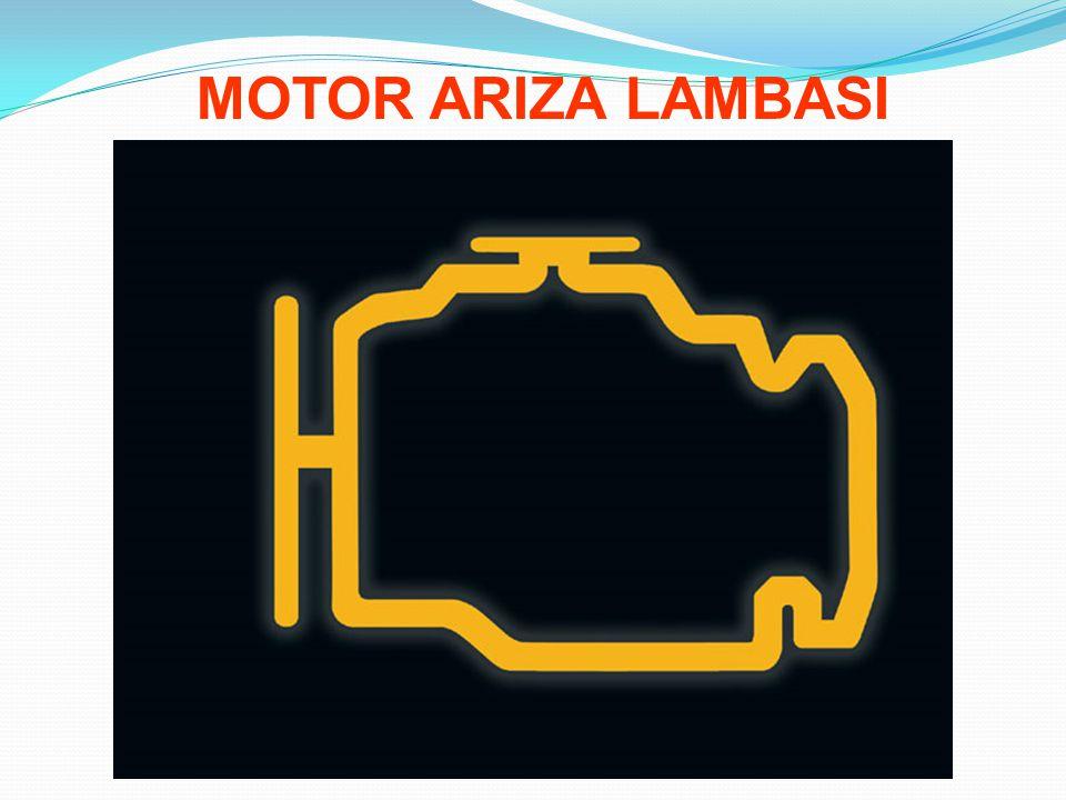MOTOR ARIZA LAMBASI