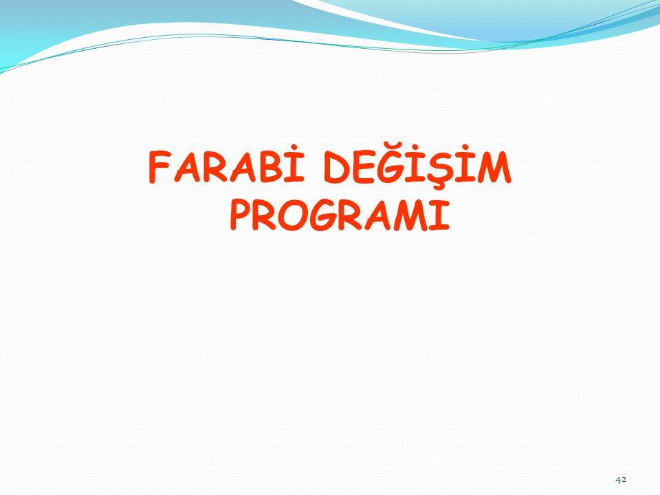 FARABİ DEĞİŞİM PROGRAMI 42