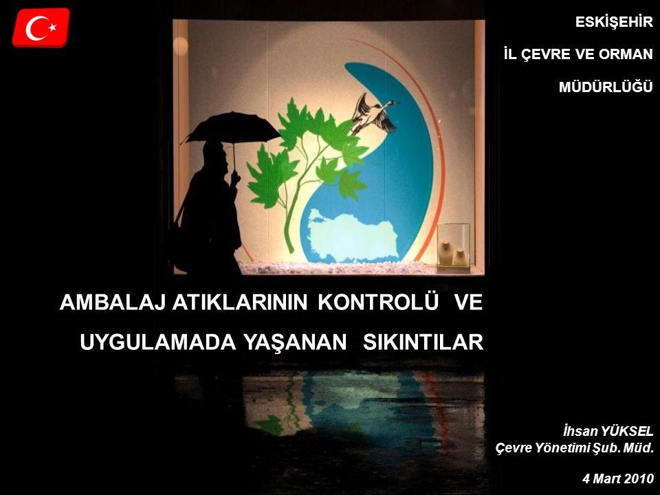 Eskişehir Çevre ve Orman Müdürlüğü Kayıtdışılık 2300 200 Toplam Belediye Sayısı AAYP onaylanan Belediye Sayısı AAYP onaylanmış bölgelerde çalışan TAT lara karşı haksız rekabete yol açmıştır.